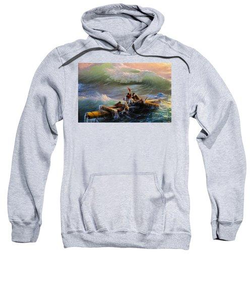 Ninth Wave Fragment  Sweatshirt
