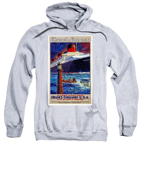 No Better Advice Than To Travel - French Line Sweatshirt