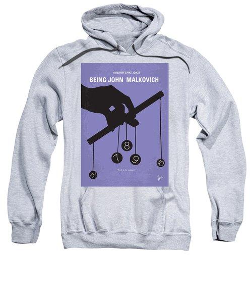 No009 My Being John Malkovich Minimal Movie Poster Sweatshirt