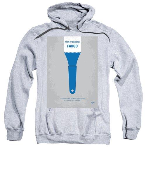 No283 My Fargo Minimal Movie Poster Sweatshirt