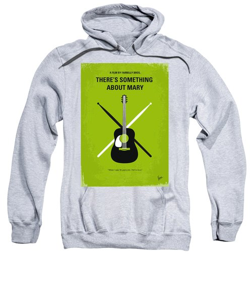 No286 My There's Something About Mary Minimal Movie Poster Sweatshirt