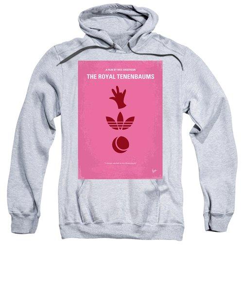 No320 My The Royal Tenenbaums Minimal Movie Poster Sweatshirt