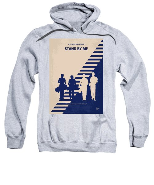 No429 My Stand By Me Minimal Movie Poster Sweatshirt
