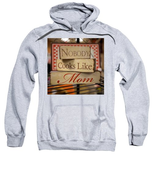 Nobody Cooks Like Mom - Square Sweatshirt