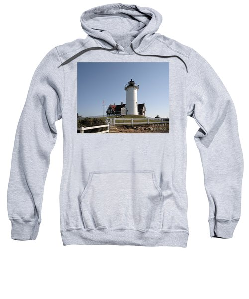 Nobska Lighthouse On Cape Cod At Woods Hole Massachusetts Sweatshirt