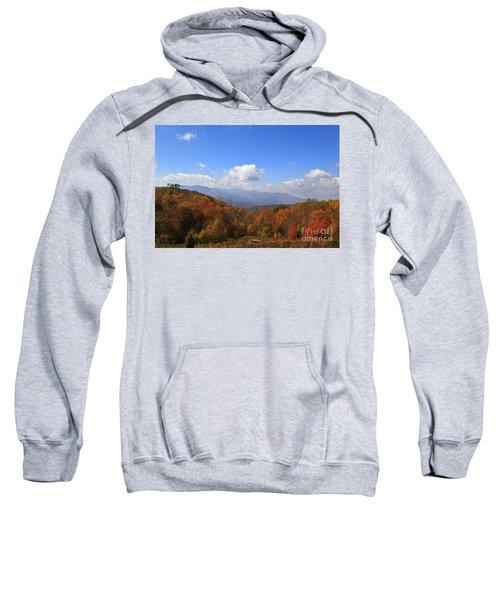 North Carolina Mountains In The Fall Sweatshirt