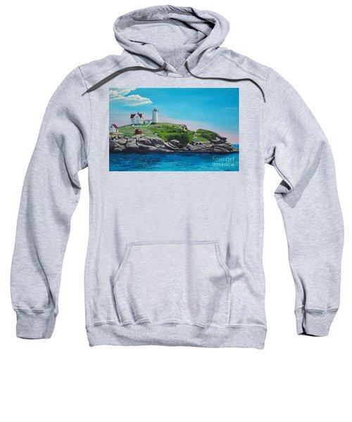 Nubble Lighthouse Sunrise Sweatshirt