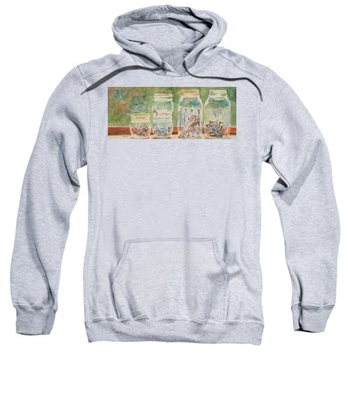 Nuts And Bolts Impression Sweatshirt