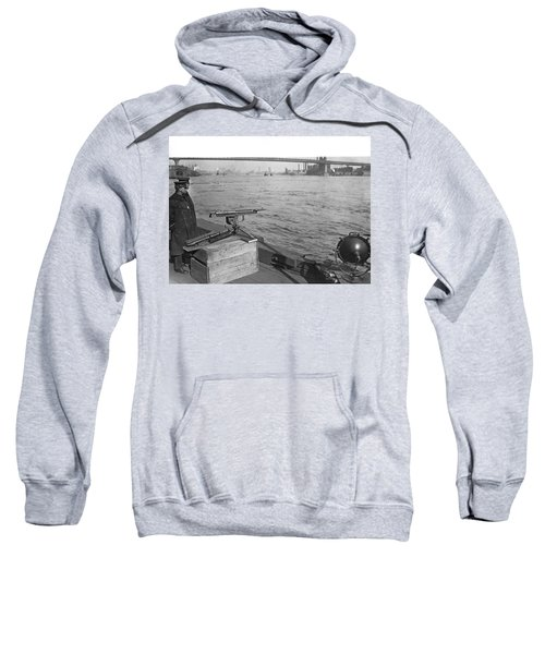 Nyc Prohibition Police Boat Sweatshirt