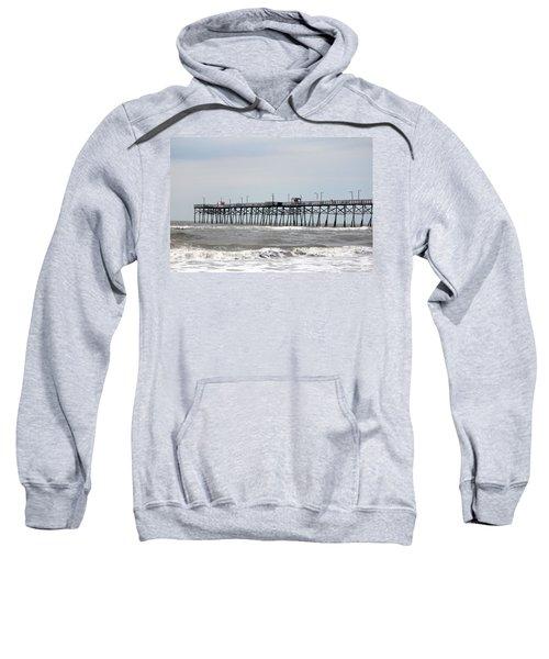 Oak Island Beach Pier Sweatshirt
