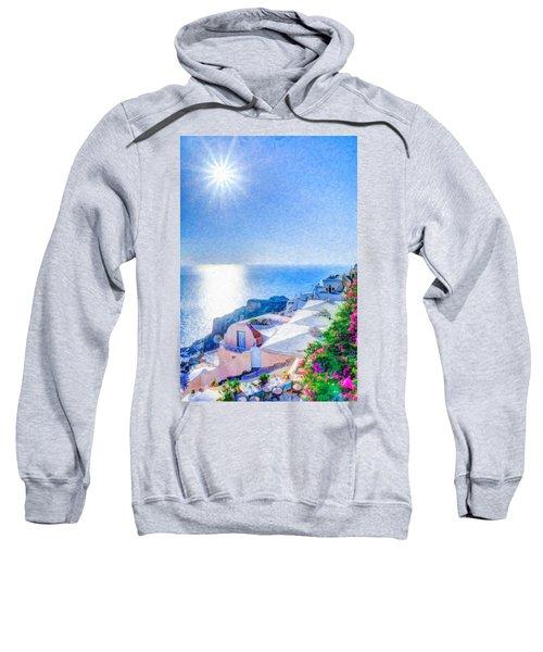 Oia Santorini Grk4178 Sweatshirt
