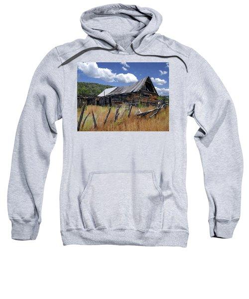 Old Barn Las Trampas New Mexico Sweatshirt