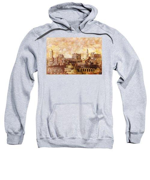 Old City Of Sanaa Sweatshirt