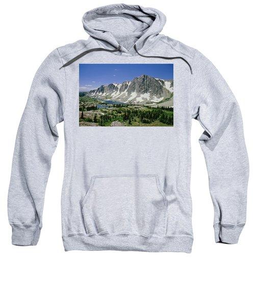 M-09702-old Main Peak, Wy Sweatshirt