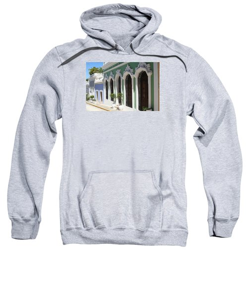 Old San Juan Street Sweatshirt