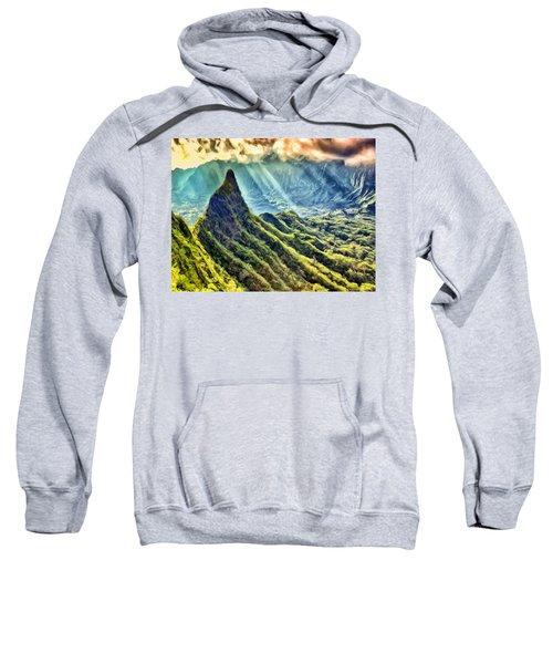 Olomana And The Koolau Range Sweatshirt