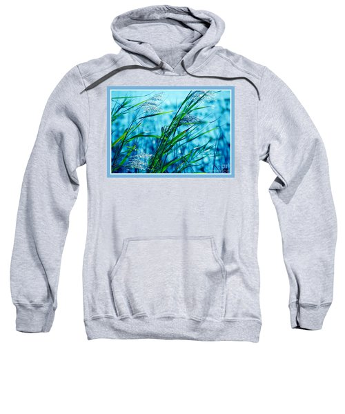 On A Blue Afternoon Sweatshirt
