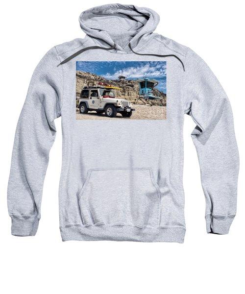 On Duty Sweatshirt by Peggy Hughes