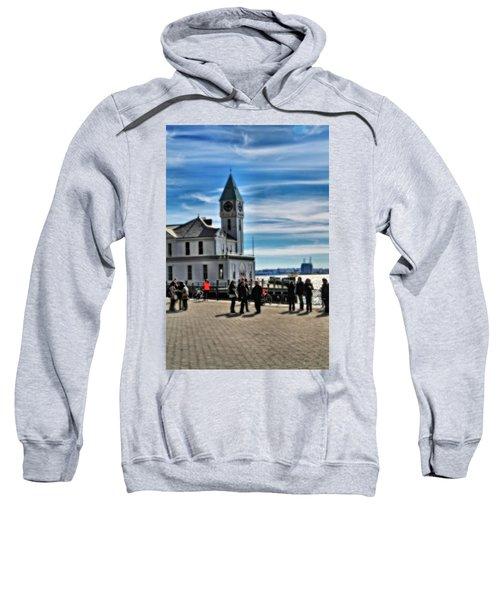 On The Pier In New York City Sweatshirt