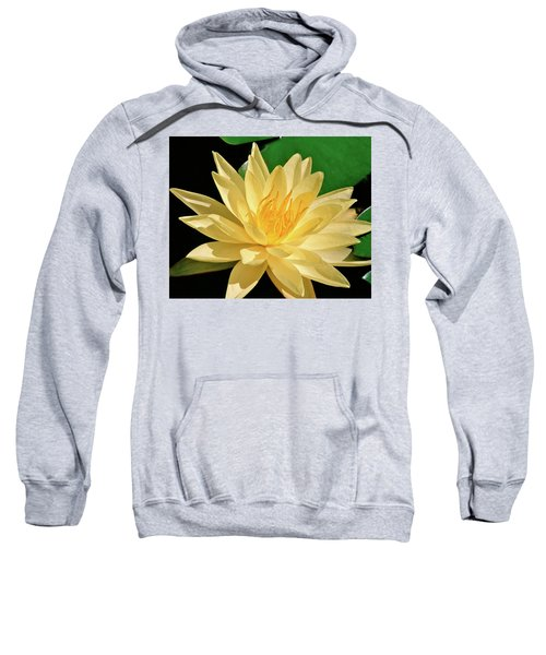 One Water Lily  Sweatshirt