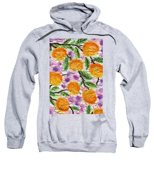 Orange Blossoms Sweatshirt