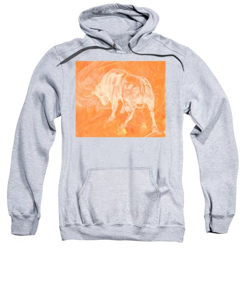 Orange Bull Negative Sweatshirt