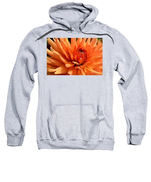 Orange Dahlia Sweatshirt
