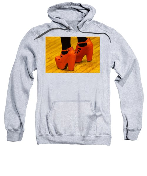 Orange Pair Sweatshirt