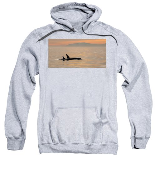 Orcas Off The California Coast Sweatshirt