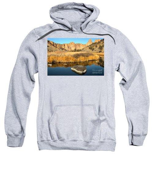 Oregon River Rock Reflections Sweatshirt