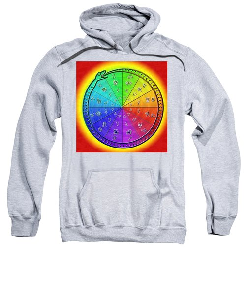 Ouroboros Alchemical Zodiac Sweatshirt