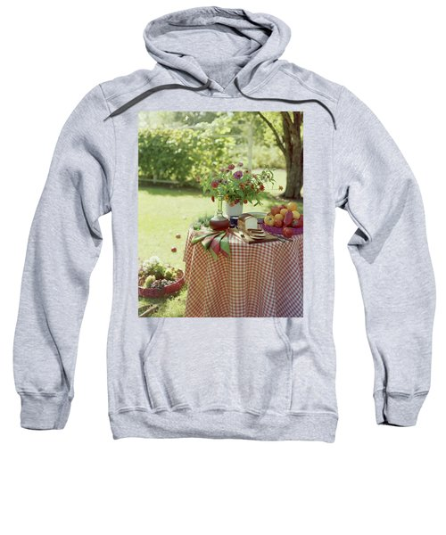 Outdoor Lunch In The Shade Of A Tree Sweatshirt