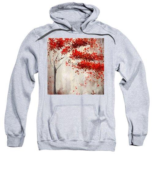 Owl In Autumn Sweatshirt