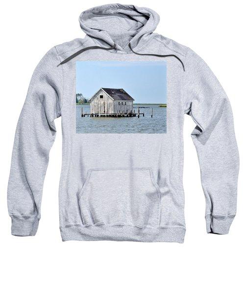 Oyster Shucking Shed Sweatshirt