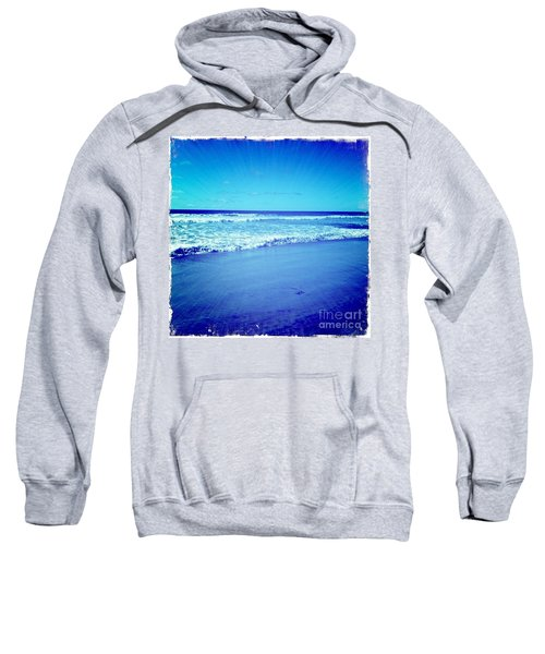 Sweatshirt featuring the photograph Pacific Rays by Denise Railey