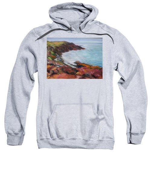 Painterly - Bold Seascape Sweatshirt