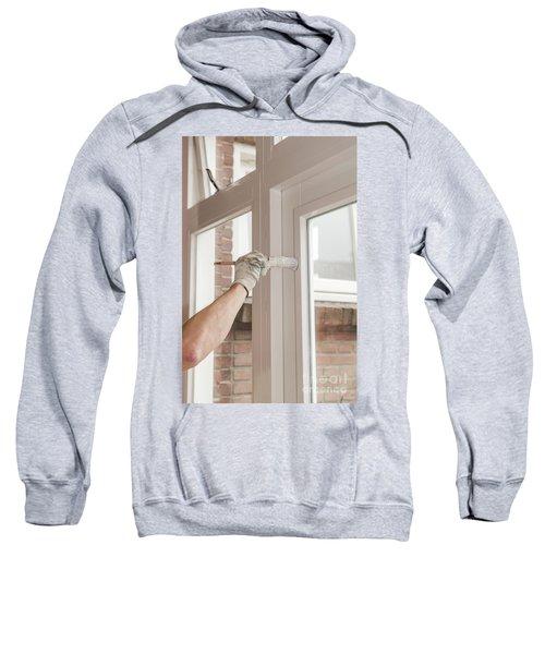 Painting Wood Sweatshirt