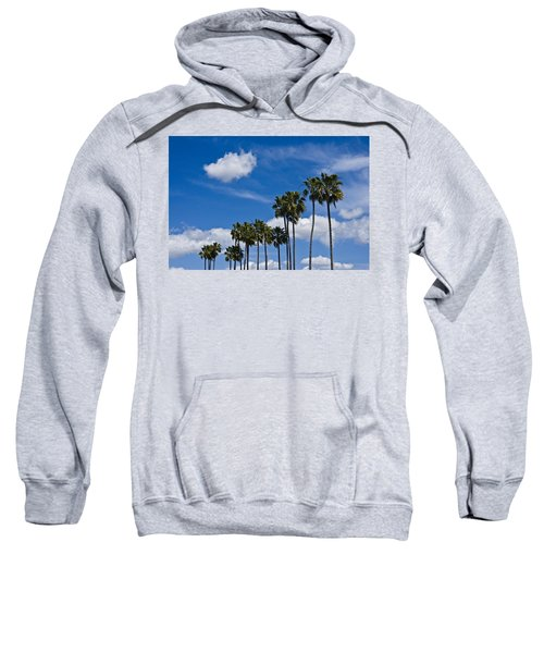 Palm Trees In San Diego California No. 1661 Sweatshirt