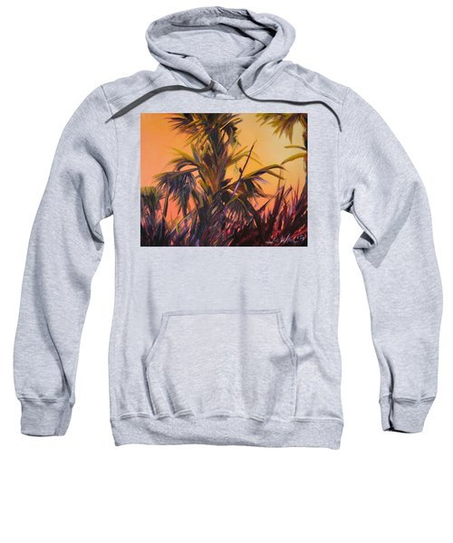 Palmettos At Dusk Sweatshirt