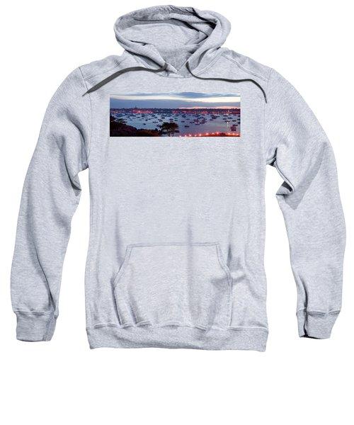 Panoramic Of The Marblehead Illumination Sweatshirt