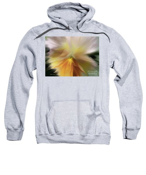 Pansy Art Sweatshirt