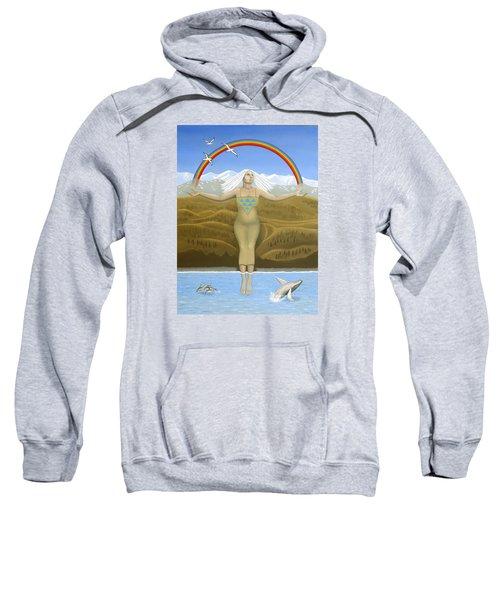 Papatuanuku / Capricorn Sweatshirt by Karen MacKenzie