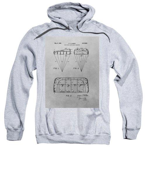 Parachute Patent Drawing Sweatshirt