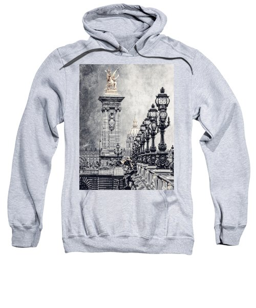Paris Pompous 2 Sweatshirt by Joachim G Pinkawa