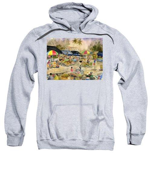 Pasar Tradisional Pacung Bali Indonesia Sweatshirt