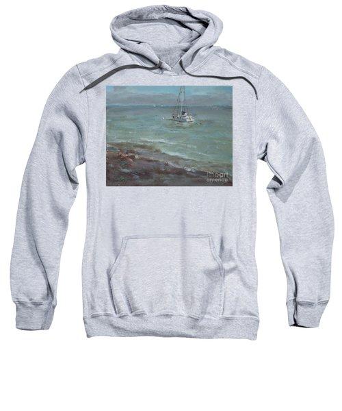 Pebbly Beach Sail Boat Sweatshirt
