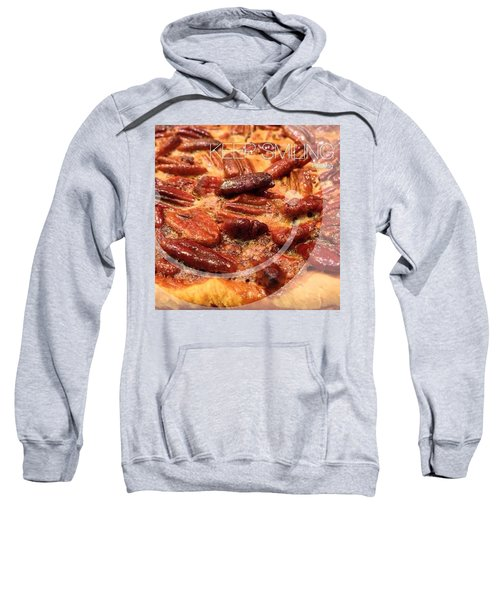 Pecan Pie - Baking On Thanksgiving Eve Sweatshirt