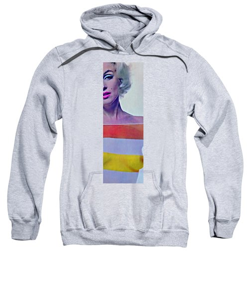 Peek A Boo Marilyn  Monroe Sweatshirt