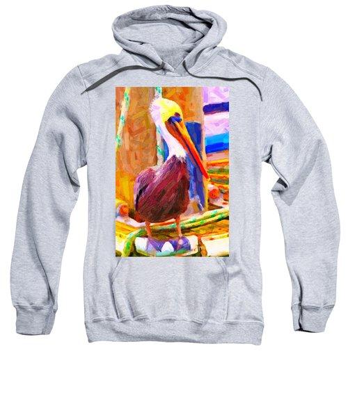 Pelican On The Dock Sweatshirt