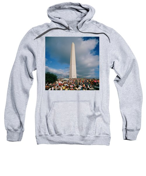 People At Washington Monument, The Sweatshirt by Panoramic Images